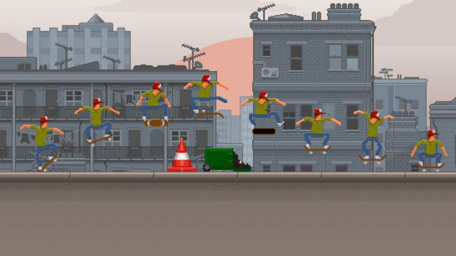 OlliOlli: conheça o estiloso game de skate 2D que chega este mês ao PS Vita
