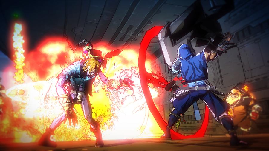 Zumbis siameses, robôs gigantes e muita pancadaria no novo trailer de Yaiba: Ninja Gaiden Z