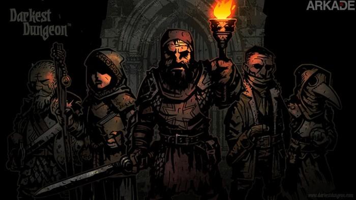 Darkest Dungeon lança uma nova luz sobre os RPGs