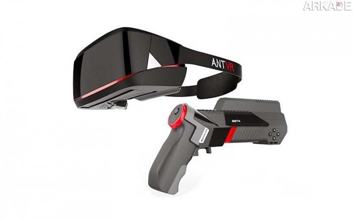 """AntVR Kit: rival """"made in China"""" do Oculus Rift tem arma integrada e funciona em várias plataformas"""