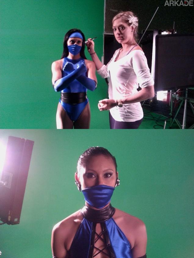 """Mortal Kombat: fotos épicas revelam os bastidores de um remake cancelado da trilogia """"klássica"""""""