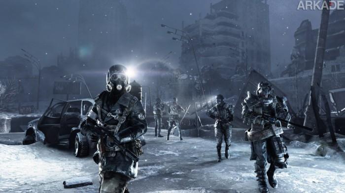 Metro Redux trará versões turbinadas dos dois jogos da série Metro para a nova geração