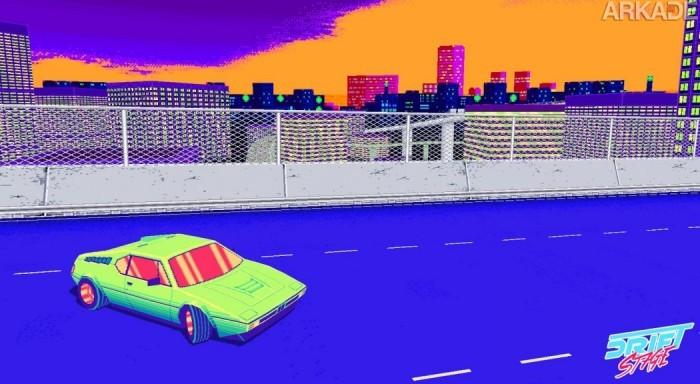 """Drift Stage é um jogo de corrida """"old school"""" que os fãs de Top Gear precisam conhecer!"""