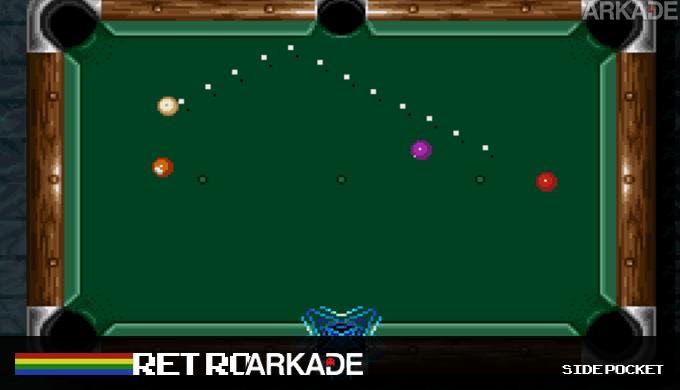 RetroArkade: Side Pocket é sinônimo de sinuca no videogame até hoje