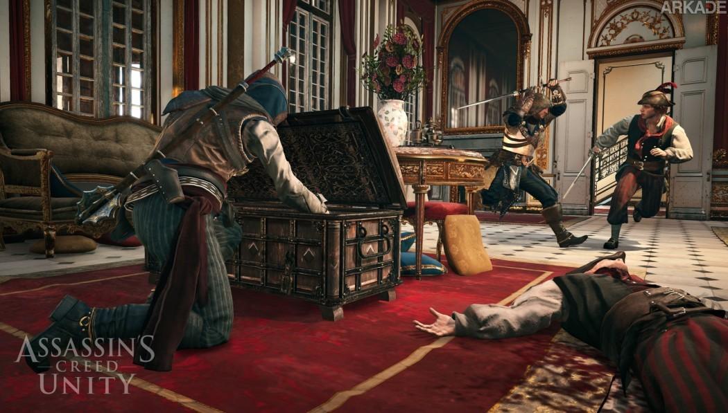 Assassin's Creed Unity apresenta missão de assalto cooperativa em novo vídeo de gameplay