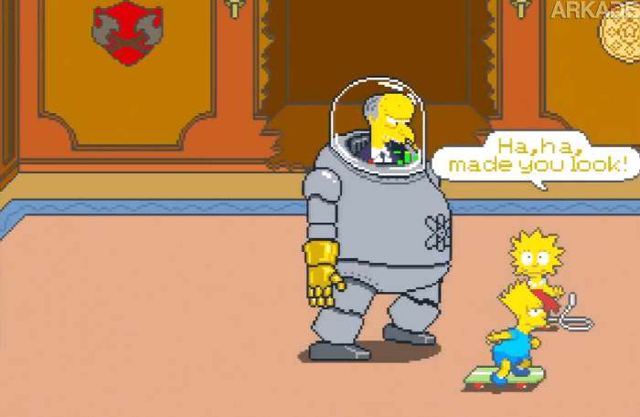 RetroArkade: The Simpsons Arcade Game é o fliperama mais divertido de todos os tempos!