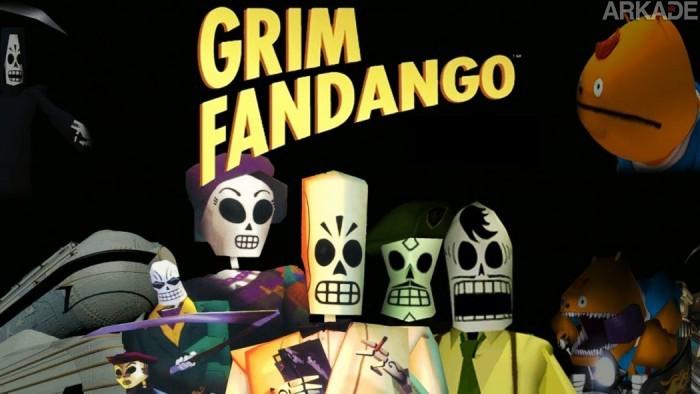 Grim Fandango Remastered será localizado em português do Brasil