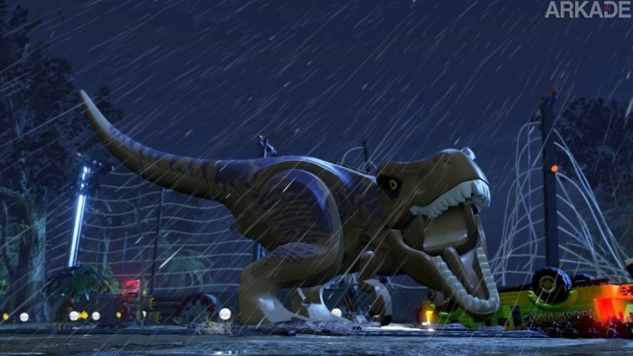 A zoeira invade o Parque dos Dinossauros no novo trailer de Lego Jurassic World