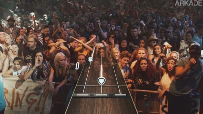 Guitar Hero Live é anunciado e mostra como vai te colocar no meio do show