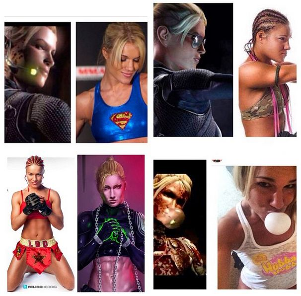Tribuna Arkade: lutadora de UFC acusa Mortal Kombat X de roubar sua aparência