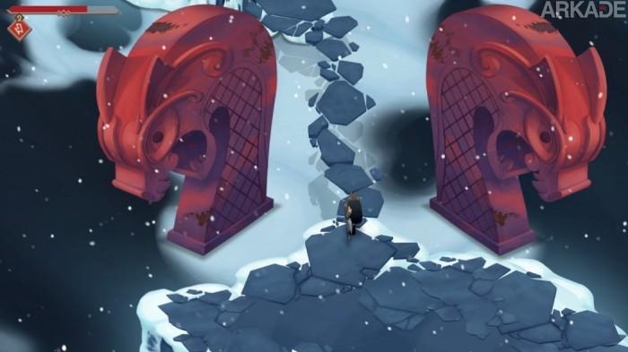 Preview Arkade: A tortuosa e gélida aventura da versão alpha de Jotun