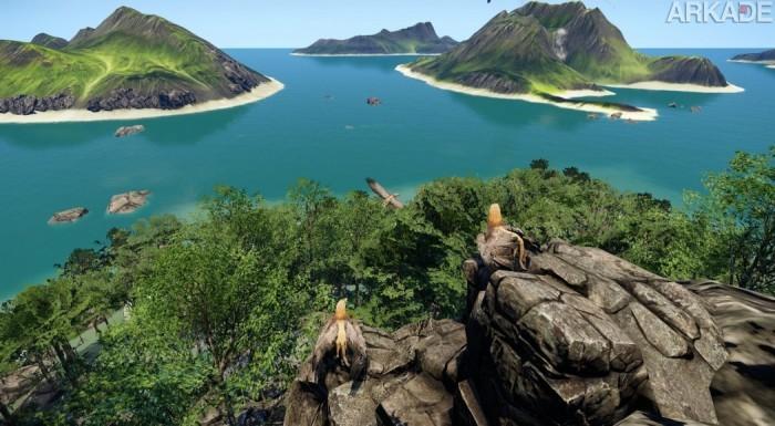 Análise Arkade: primeiros passos pelo majestoso (mas decepcionante) mundo de Wander