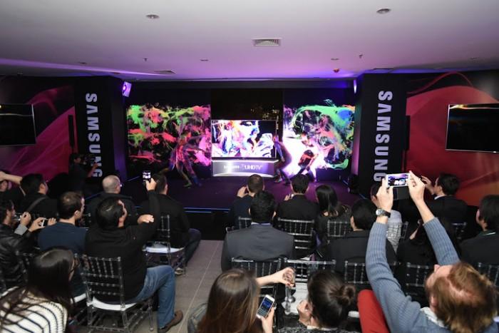 Samsung lança sua nova linha de TVs 4K, que roda games sem precisar de console