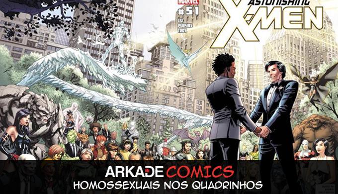 Arkade Comics: Personagens Homossexuais nos Quadrinhos