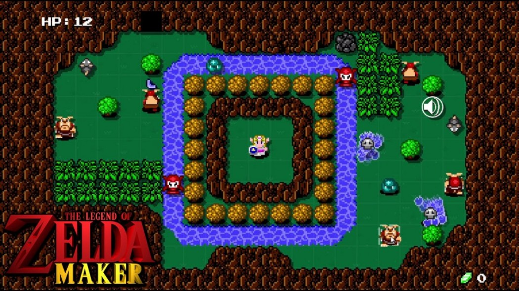 """A Nintendo criou Super Mario Maker. Os fãs da Nintendo criaram o """"Zelda Maker"""""""