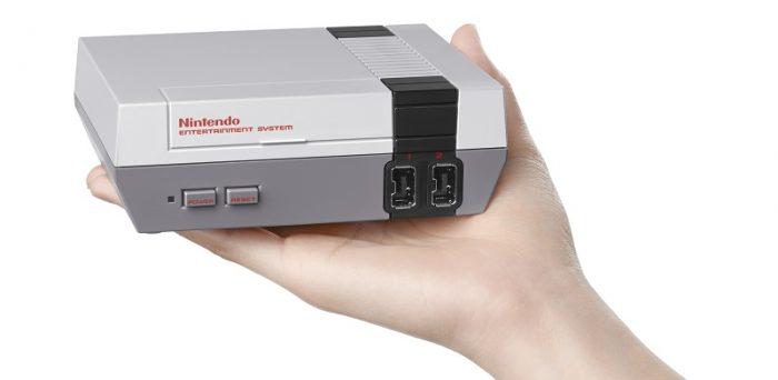 """A Nintendo vai lançar uma """"versão slim"""" do bom e velho NES 8-bit ainda este ano!"""