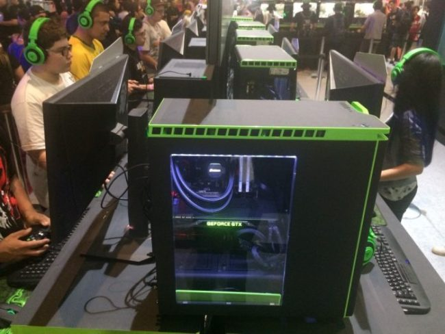 BGS 2016: NVidia ofereceu Realidade Virtual e notebooks gamer da Acer, além de Tekken 7