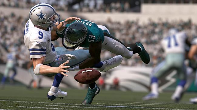 Madden 17 continua a evolução da NFL nos games