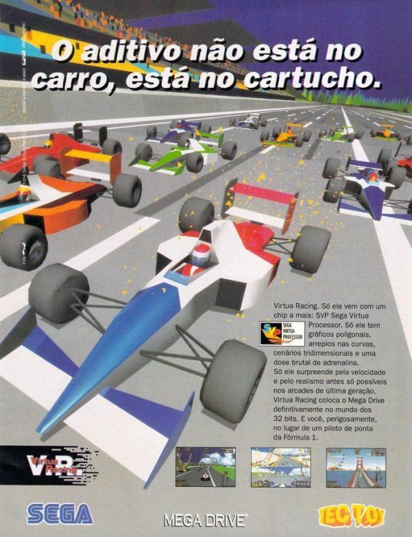 RetroArkade: Começando a correr em três dimensões em Virtua Racing
