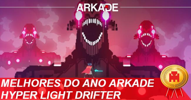 Melhores Jogos do Ano Arkade 2016: Hyper Light Drifter