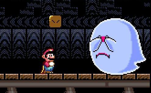 Em pleno 2017, descobriram como matar os fantasmas gigantes de Super Mario World!