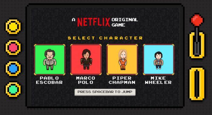 Netflix lança minigames de Stranger Things, Narcos e outras séries para jogar direto pelo navegador!