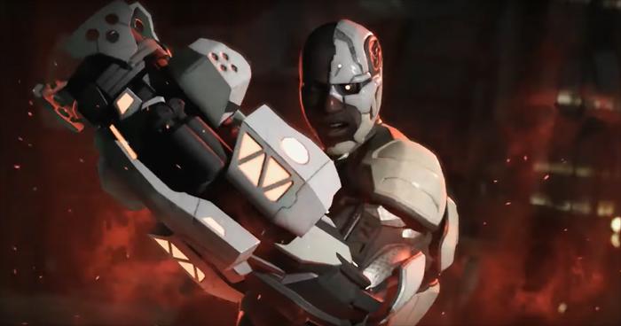 Ciborgue é o mais novo herói revelado em Injustice 2!