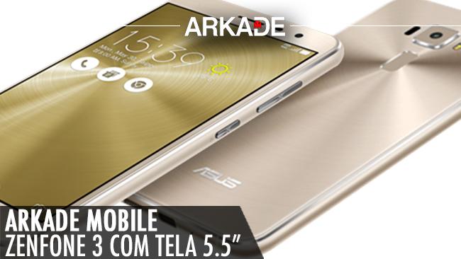 """Arkade Mobile: Zenfone 3 de 5.5"""""""