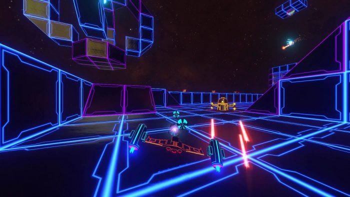 Análise Arkade: Dystoria traz um spaceshooter de gameplay frenético e iluminado