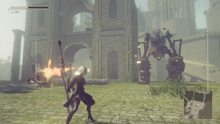 Análise Arkade: NieR Automata é RPG, hack 'n slash e até jogo de navinha, e faz tudo isso muito bem