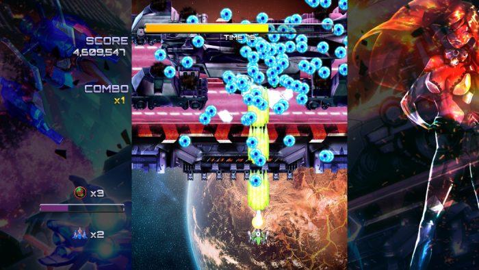 Análise Arkade: Ghost Blade HD é um bullet hell de navinha totalmente old school