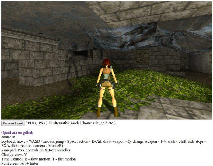Jogue agora o clássico Tomb Raider direto pelo seu browser, sem instalar nada!