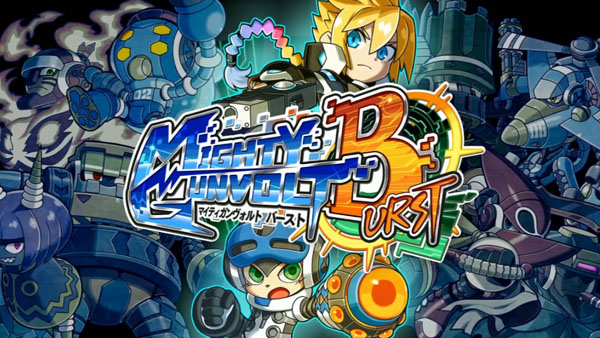 Inti Creates anuncia crossover Mighty Gunvolt Burst e a série Gunvolt para o Switch e 3DS