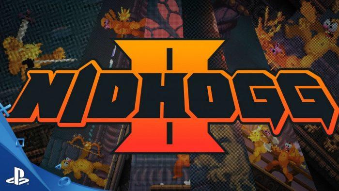 Confira novo trailer do gameplay de Nidhogg 2, sequência do game de combates pixelados