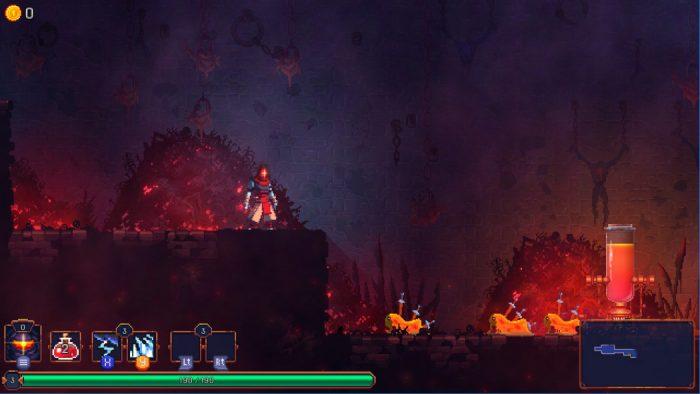 Análise Arkade: Morrer pode ser um bom negócio no Metroidvania Dead Cells