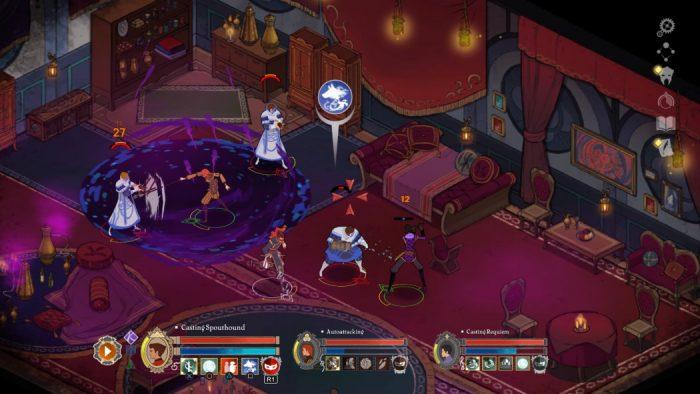 Masquerada Songs and Shadows: belo RPG isométrico desenhado à mão chega em agosto aos consoles