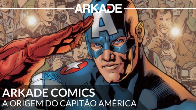 Arkade Comics - A Origem do Capitão América