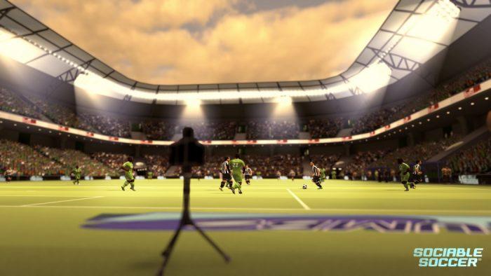 Preview Arkade: Voltando aos tempos do futebol raiz em Sociable Soccer