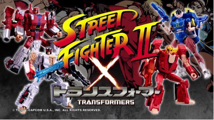 Lutadores de Street Fighter viram Transformers em nova série de action figures