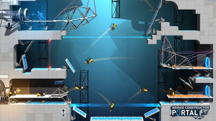 Bridge Constructor Portal: crossover inusitado vai nos levar de volta aos laboratórios da Aperture Science