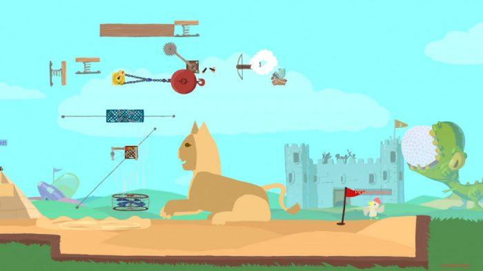 Análise Arkade: Ultimate Chicken Horse é a criatividade a serviço da zoeira