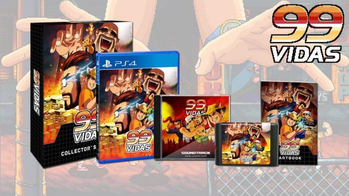 Jogo brasileiro 99Vidas vai ganhar edição de colecionador retrô!