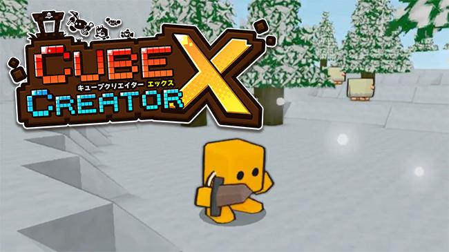 Confira o gameplay de Cube Creator X, um RPG estilo Minecraft exclusivo para o Switch