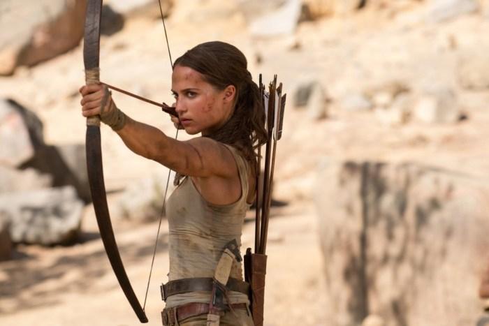 Lara Croft, quer dizer, Alicia Vikander, diz qual é o seu Tomb Raider preferido