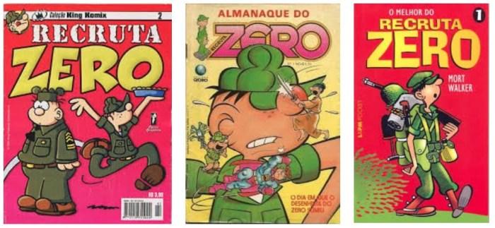 Arkade Comics - A história do Recruta Zero