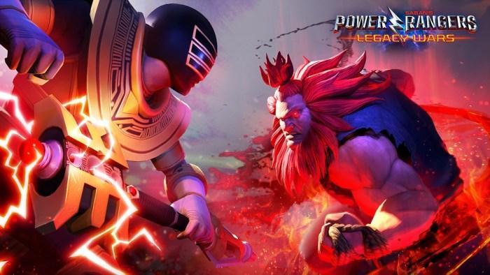 Sabia que está rolando um crossover de Street Fighter com Power Rangers?