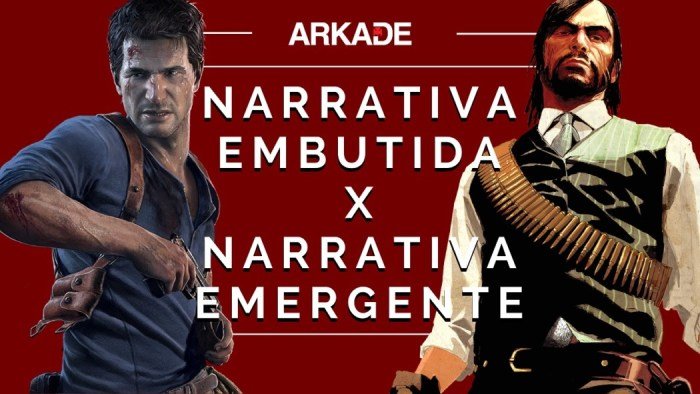 Editorial: Narrativa Embutida x Narrativa Emergente nos games. Qual você prefere?