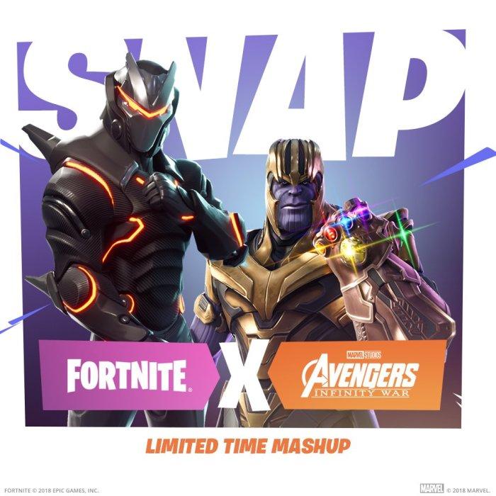 Thanos invade as partidas de Fortnite Battle Royale em evento temático gratuito!