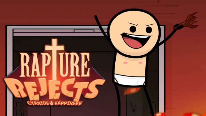 E3 2018: Rapture Rejects é um Battle Royale ambientado no universo de Cyanide & Happiness