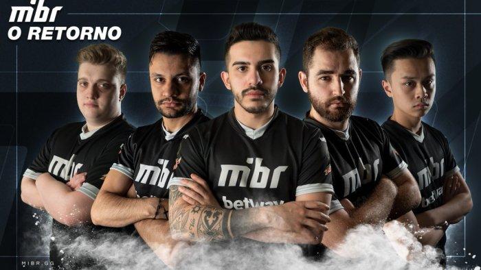 O MiBR está de volta! Lendário time brasileiro de Counter Strike volta com line-up da SK